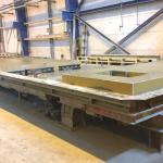 Tilting Table, Kipptisch 8,70m x 3,90m