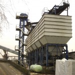 Central Concrete mixing plant