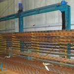 Lattice girder processing