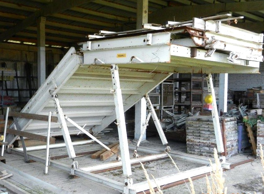 Staircase Formwork Ramp