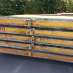 Stahlpaletten für Wandfertigung