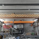 Double girder overhead traveling crane 20tons