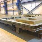 Tilting Table, Kipptisch 8,70m x 3,90m