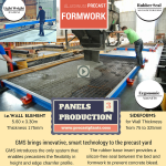 GMS Precast Wall Panels Formwork