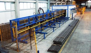 Lattice Girder Welding Line
