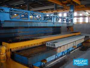 Precast Hollow Core Floor Production System