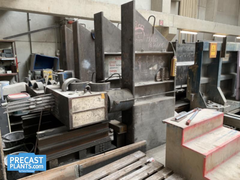 Concrete Girder Mould 63m A9328