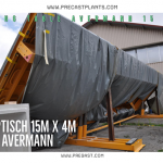 Tilting Table 15x4m A20386