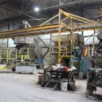 Produktion Terrazzoplatten